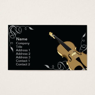 Violin - Business Business Card