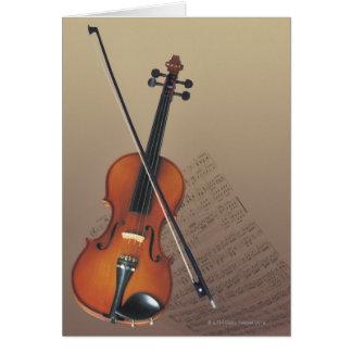 Violin Card