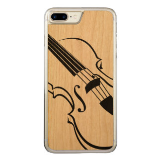 Violin Cell Phone Carved iPhone 7 Plus Case