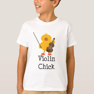 Violin Chick Kid T-shirt