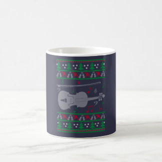 Violin Christmas Coffee Mug