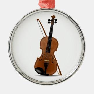 Violin Christmas Ornament