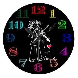 Violin Clock Design