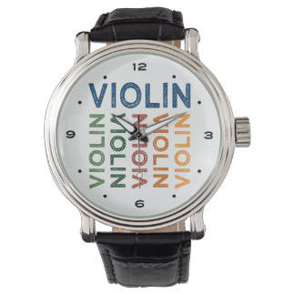 Violin Cute Colorful Watch