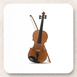 Violin Drink Coaster