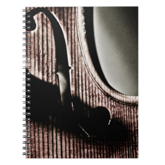 Violin F-Hole Notebook