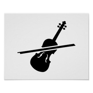 Violin Fiddle Posters