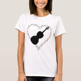 Violin Heart T-Shirt