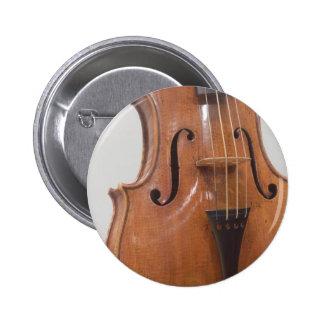 Violin II 6 Cm Round Badge