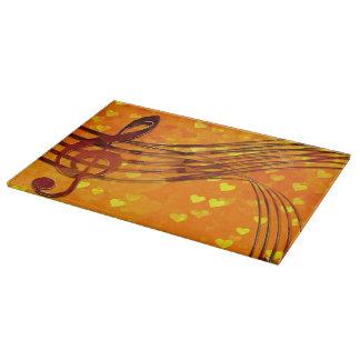 Violin key cutting board