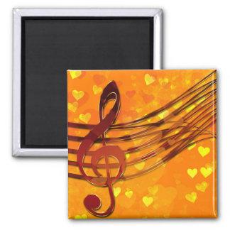 Violin key magnet
