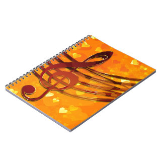 Violin key notebook