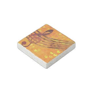Violin key stone magnet