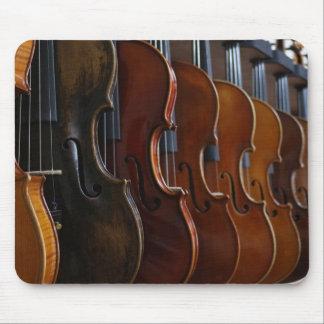 Violin Lineup Mouse Mat