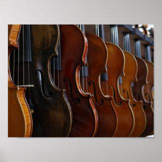 Violin Lineup Poster
