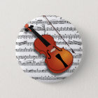 Violin Lover_ 6 Cm Round Badge