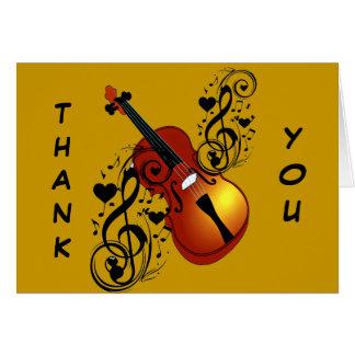 Violin,Lover at Heart_ Note Card