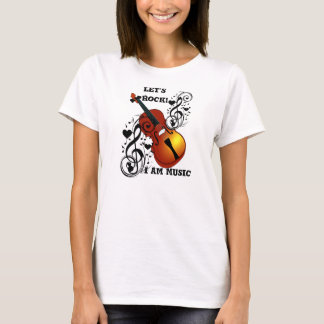 Violin,Lover at Heart_ T-Shirt
