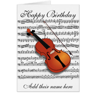 Violin Lover_ Card