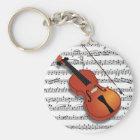 Violin Lover_ Key Ring