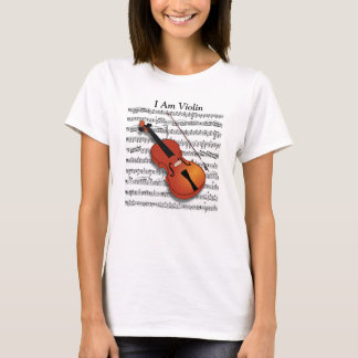 Violin Lover_ T-Shirt