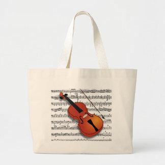 Violin Lover_ Canvas Bags