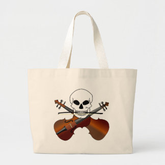 Violin Master Music Tote Bag