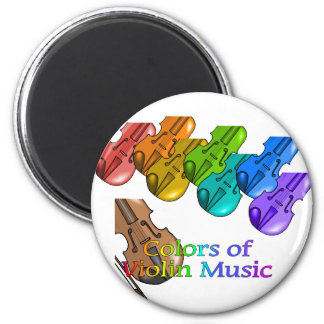 Violin music magnet