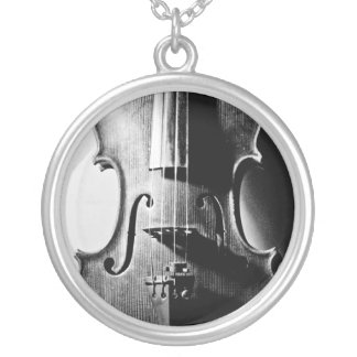 Violin Necklace