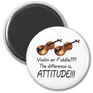 Violin or Fiddle Fridge Magnets