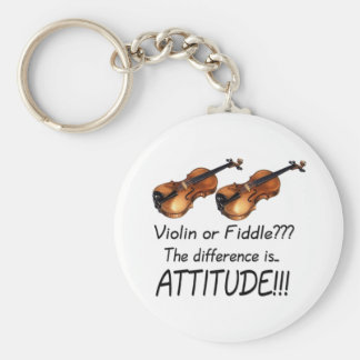 Violin or Fiddle??? Key Ring