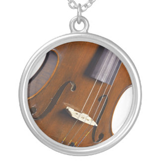 Violin or Viola Round Necklace