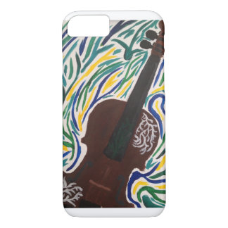 Violin Painting iPhone 7 Case