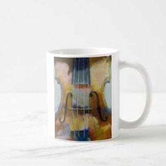 Violin Painting Mug