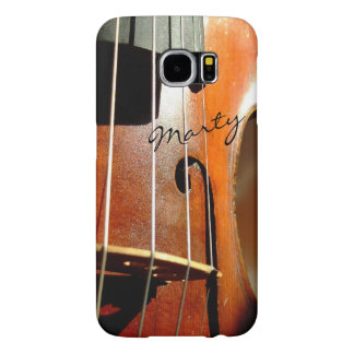 Violin Personalized Music Galaxy S6 Case Samsung Galaxy S6 Cases