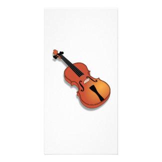 Violin Customized Photo Card