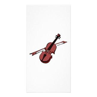 Violin Photo Card Template