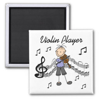 Violin Player Magnet