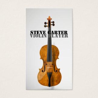 Violin Player Music Artist Card