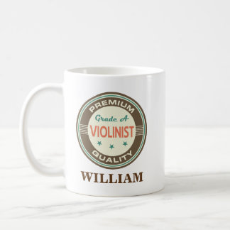Violin player Personalized Office Mug Gift