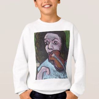 violin player sweatshirt