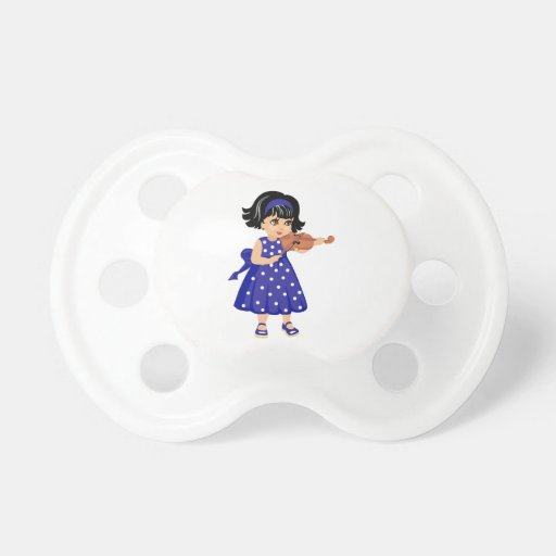violin player young girl blue dress.png baby pacifiers