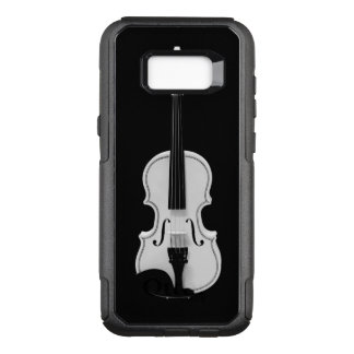 Violin Portrait - Black and White Photograph OtterBox Commuter Samsung Galaxy S8+ Case