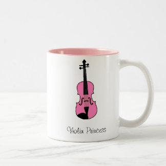 Violin Princess Two-Tone Mug