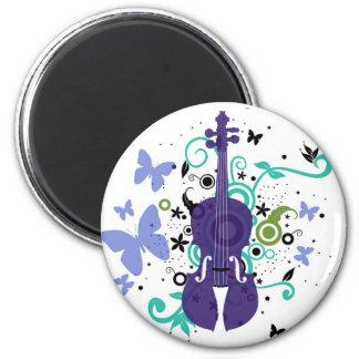 Violin Refrigerator Magnet