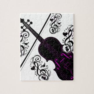 Violin,Rocking love_ Jigsaw Puzzle