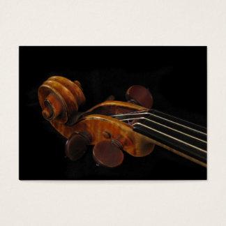 Violin Scroll ATC Business Card