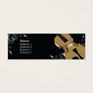 Violin - Skinny Mini Business Card