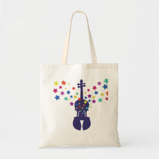 Violin Star Tote Bag