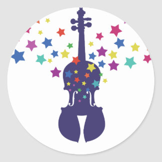 Violin Star Violin Stickers